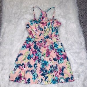 Candie's floral sun dress